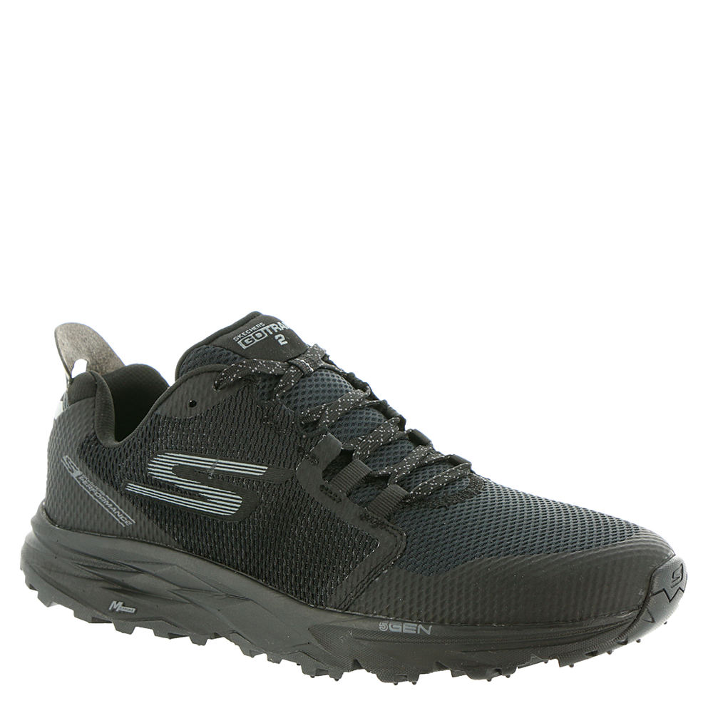 Skechers Performance Go Trail 2-54120 Men's Black Running 9.5 M 651191BLK095M
