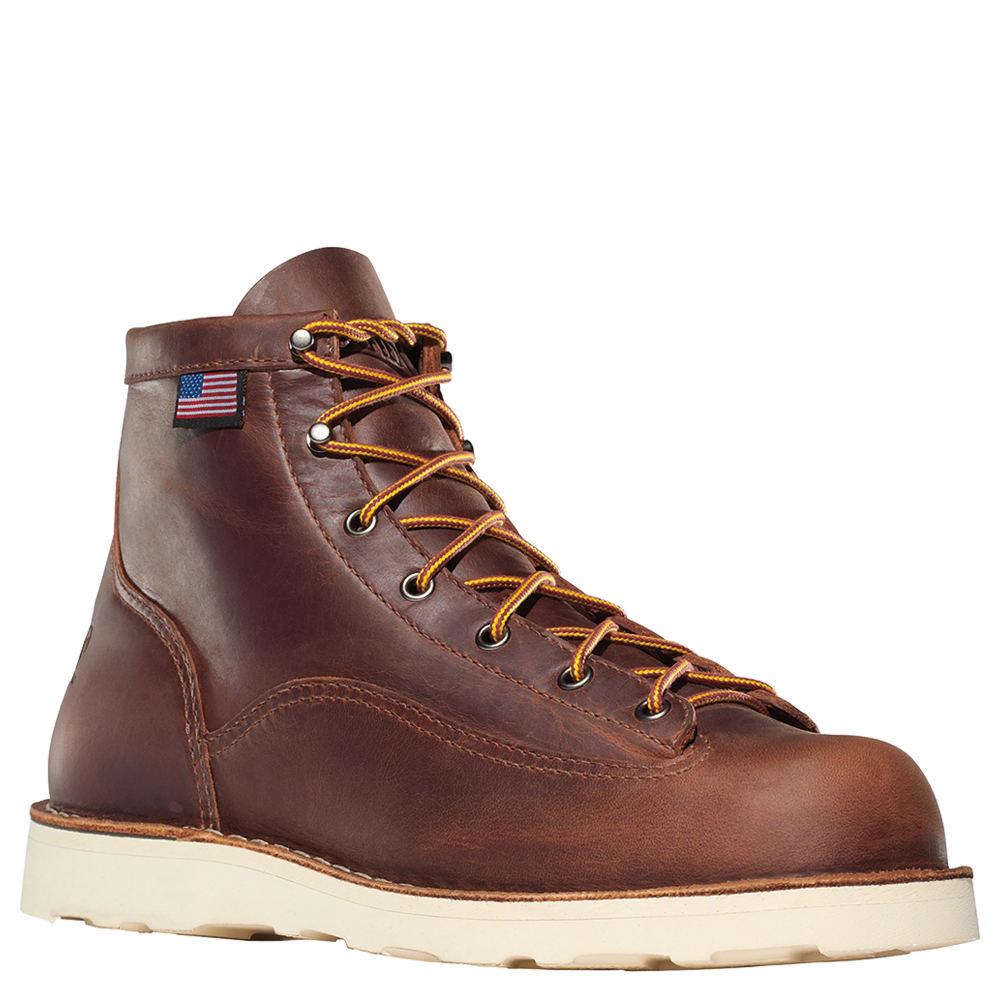 """Danner Bull Run 6"""" Men's Brown Boot 9 D 651375BRN090D"""