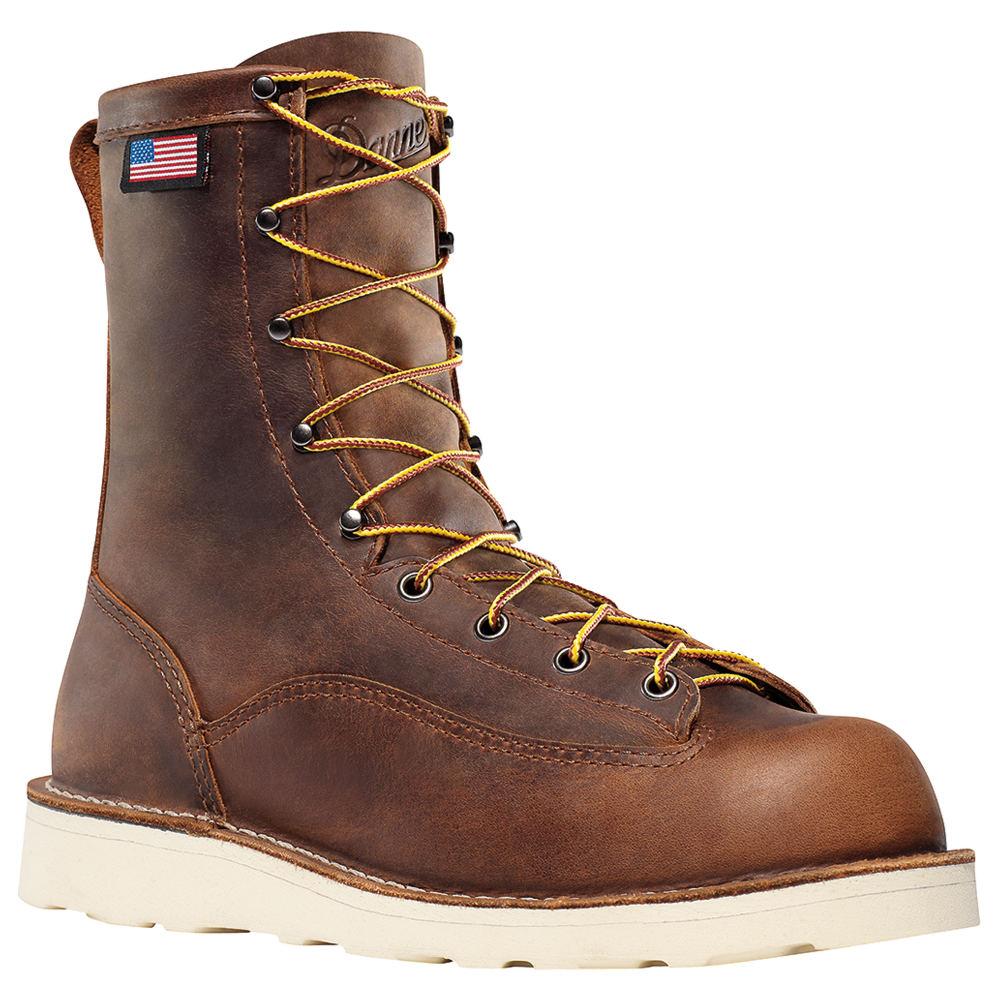 """Danner Bull Run 8"""" Men's Brown Boot 8.5 D"""