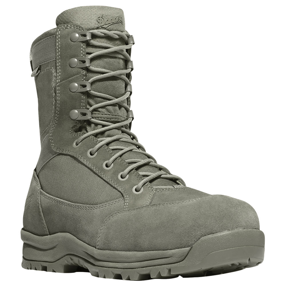 "Danner Tanicus 8"" Dry NMT Men's Green Boot 9.5 D"
