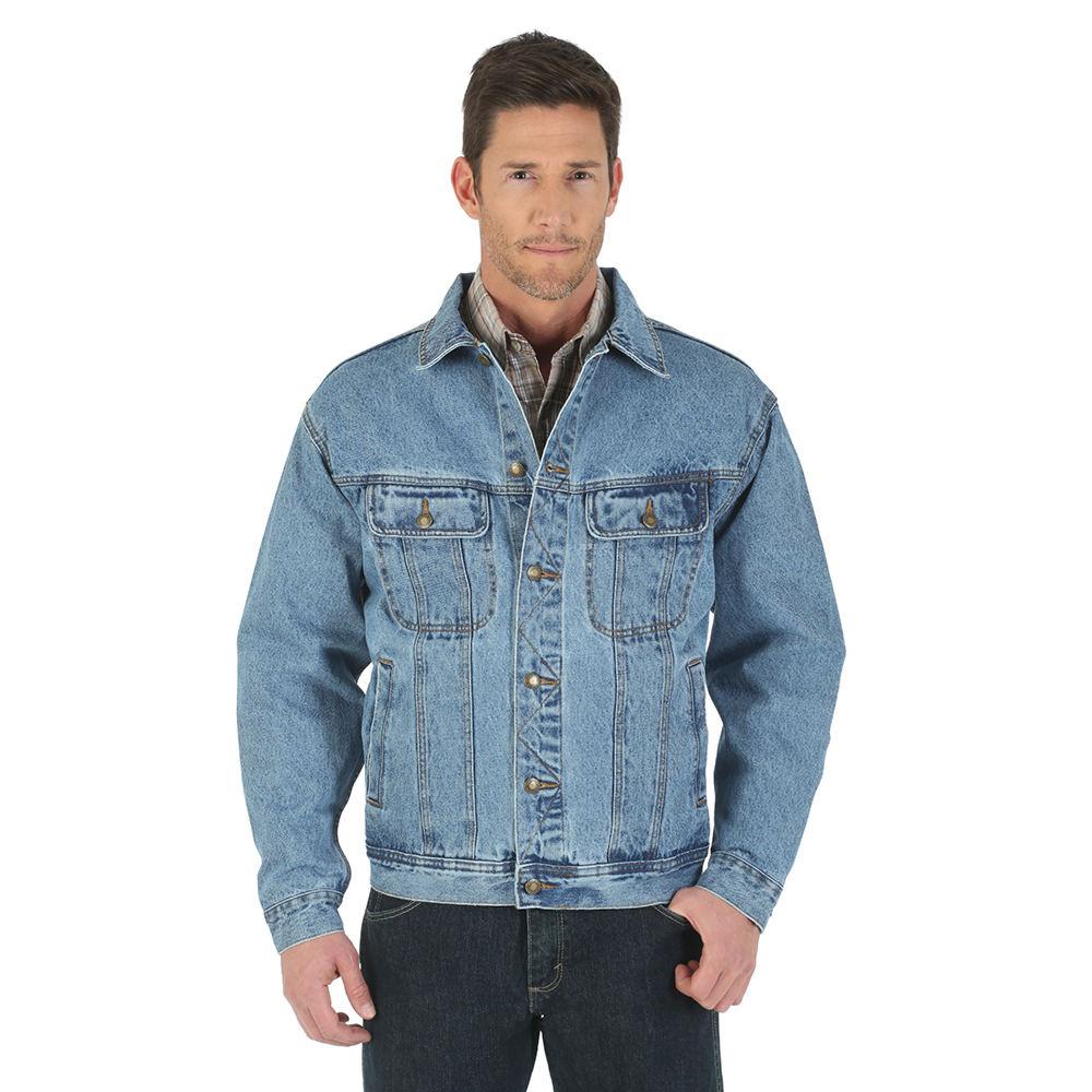 Wrangler Denim Jacket Blue Jackets XL 713074VINXL
