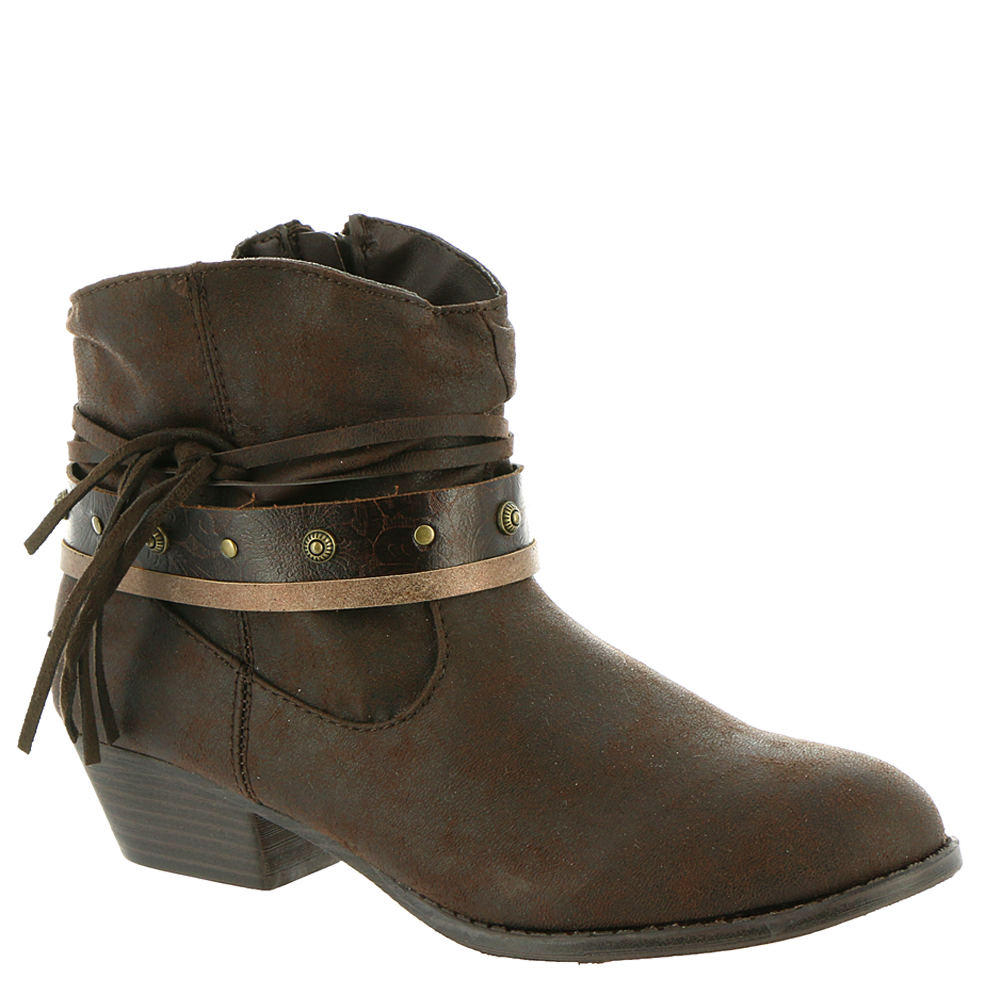 Mia Cowgirl Girls' Toddler-Youth Brown Boot 2 Youth M
