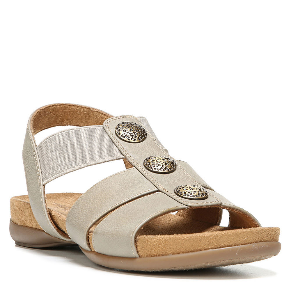 Natural Soul Amelia Women's Tan Sandal 5.5 M 547930TPE055M