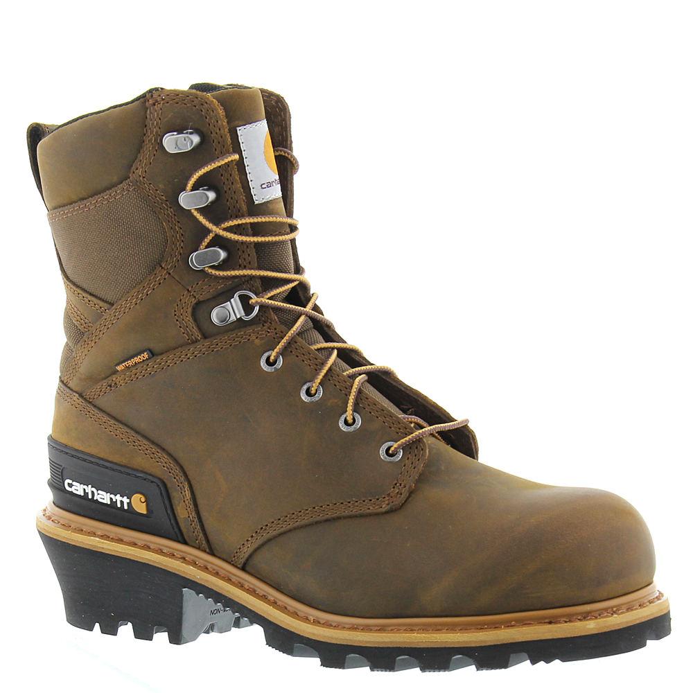 "Carhartt CML8360 8"" Composite Toe Climbing Men's Brown Bo..."
