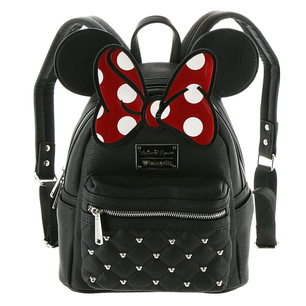 Loungefly Minnie Bow Mini Backpack Black Bags No Size