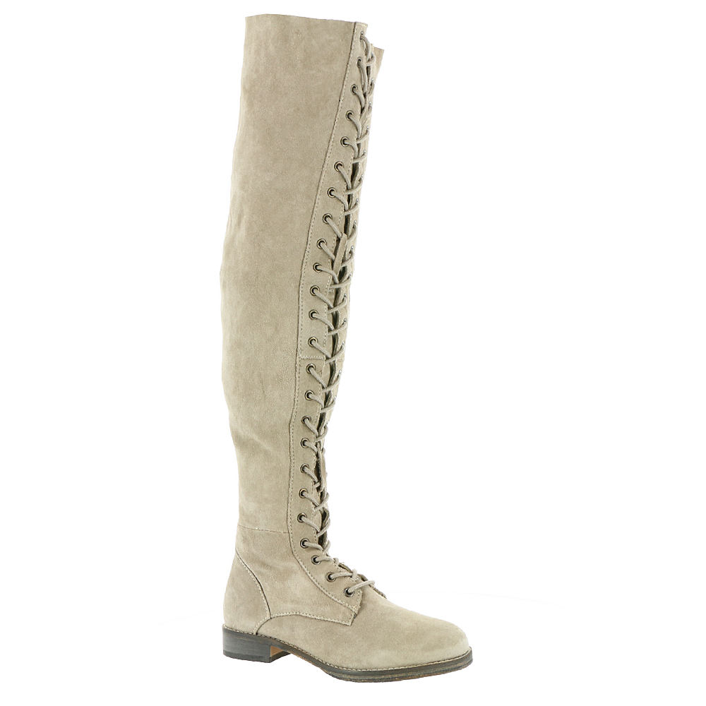 Free People Tennessee Lace Up Women's Grey Boot Euro 39 US 8.5 - 9 M 549540GRY390M