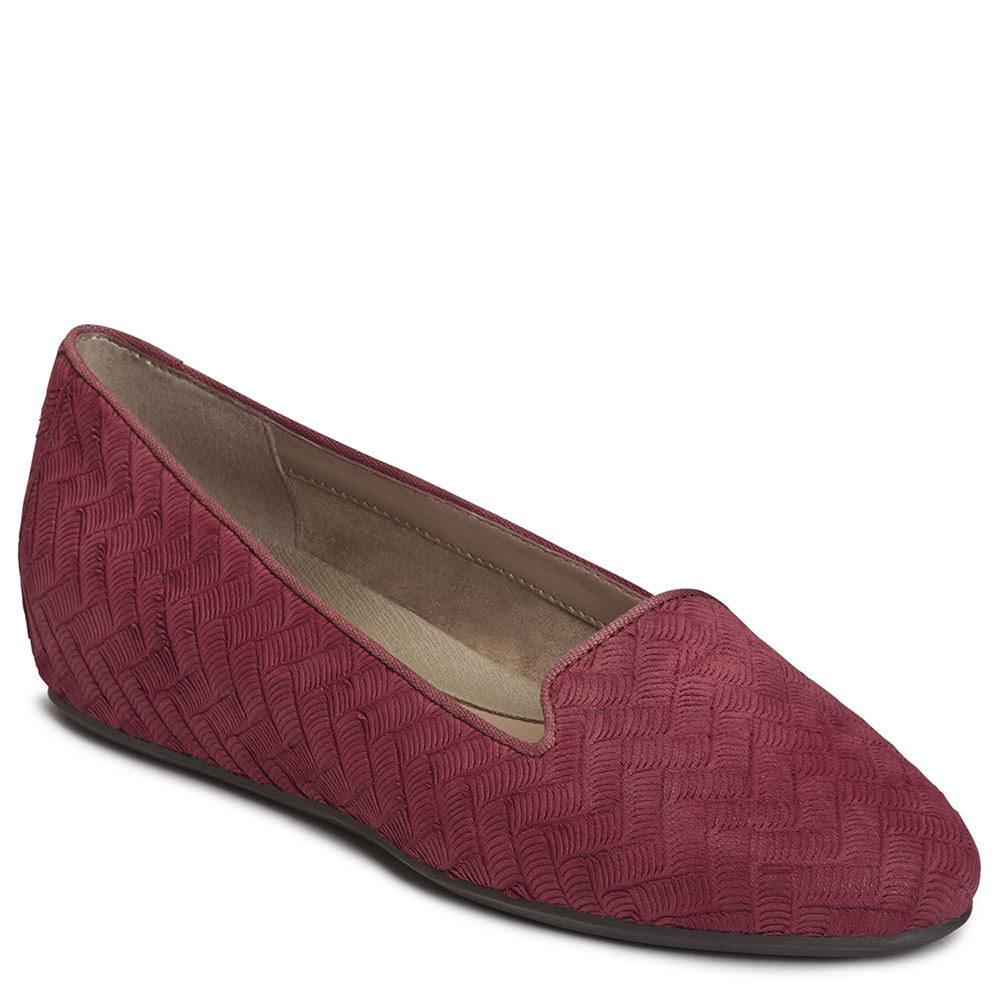 Aerosoles Cosmetology Women's Red Slip On 10 M