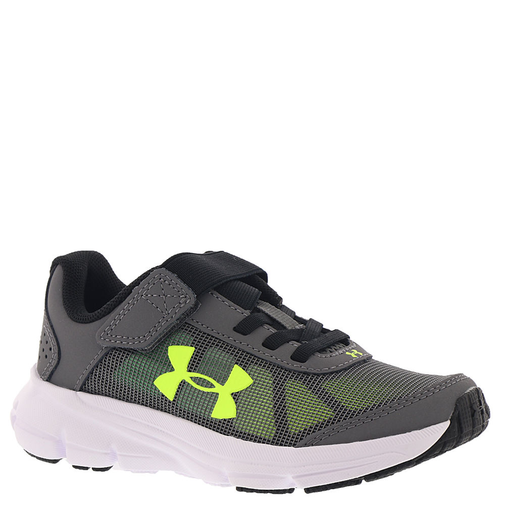 Under Armour BPS Rave 2 AC Boys' Toddler-Youth Grey Runni...