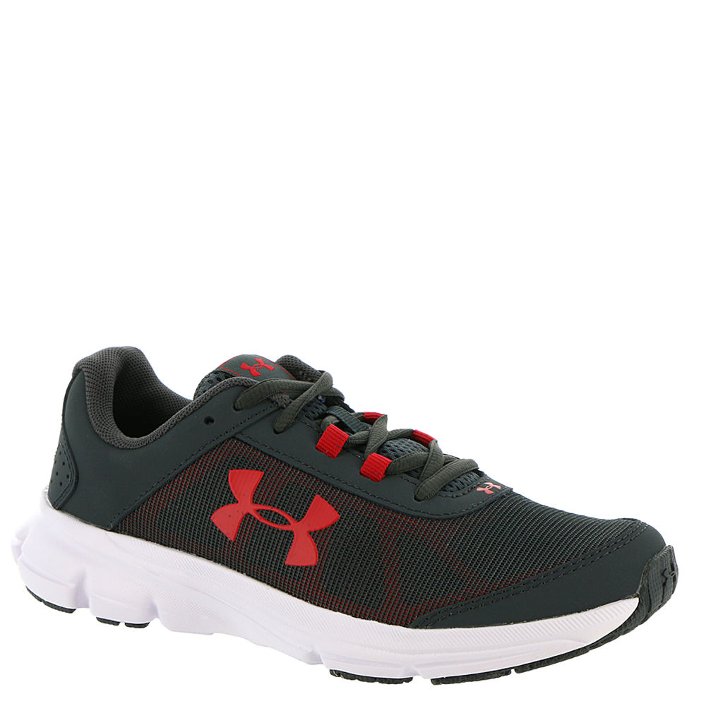 Under Armour BGS Rave 2 Boys' Youth Grey Running 5.5 Youth M