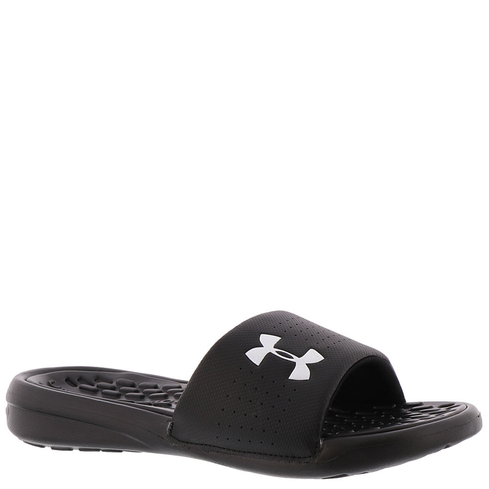 Under Armour Debut Fix SL Boys' Youth Black Sandal 2 Youth M