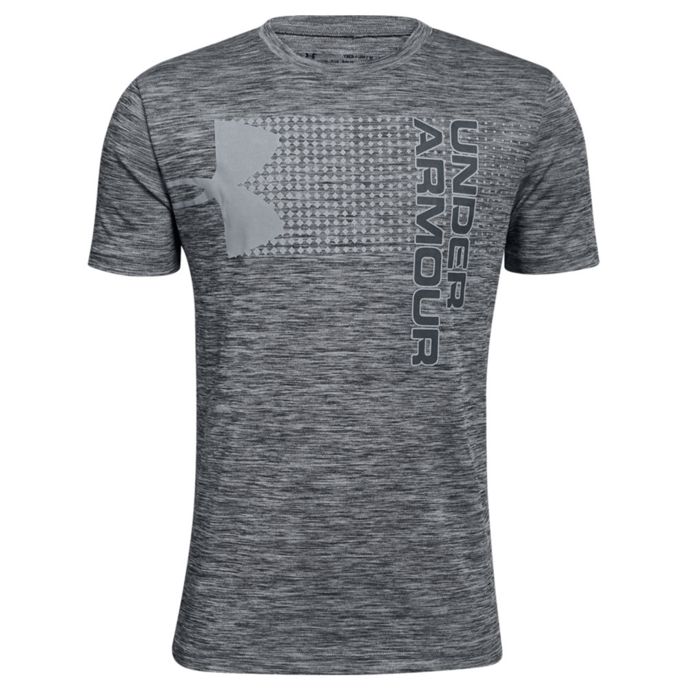 Under Armour Boys' Crossfade Tee Black Knit Tops M 825959BLKM