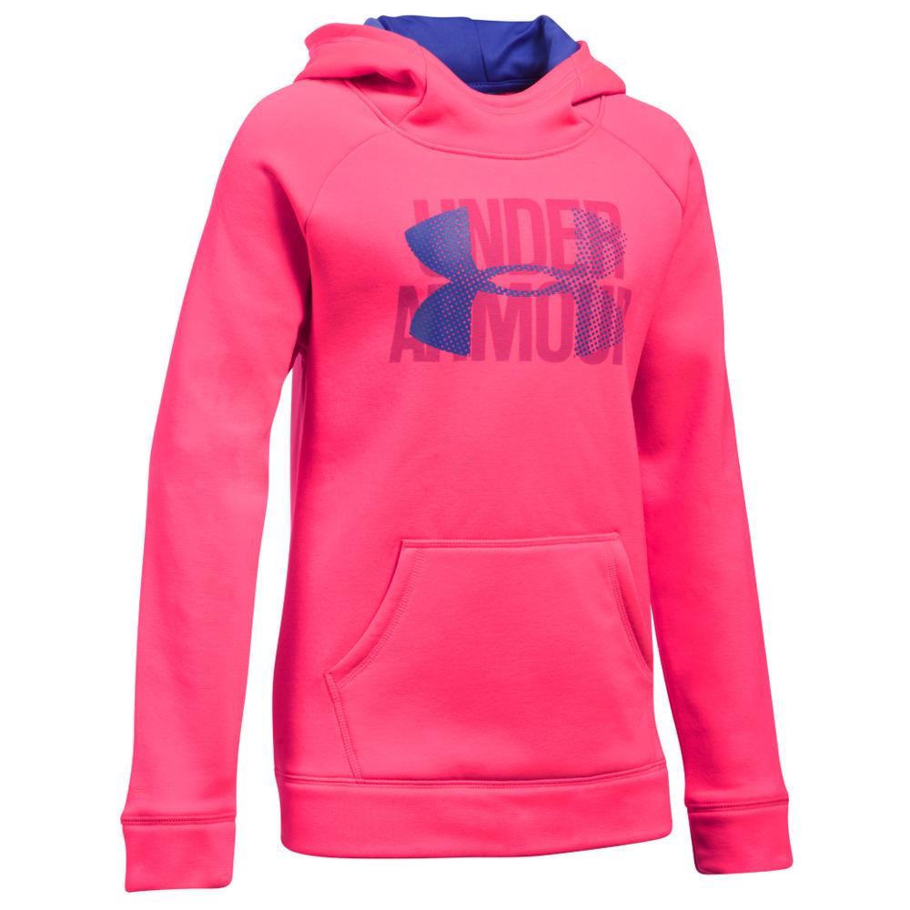 Under Armour Girls' Armour Fleece Highlight Hoodie Pink Jackets XL 825955PNKXL