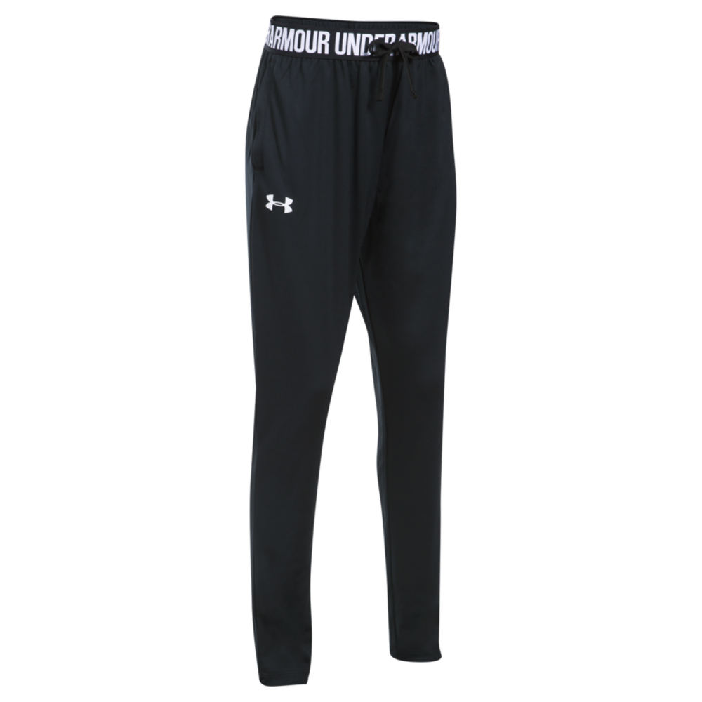 Under Armour Girls' Tech Jogger Black Pants S-Regular 825969BLKS