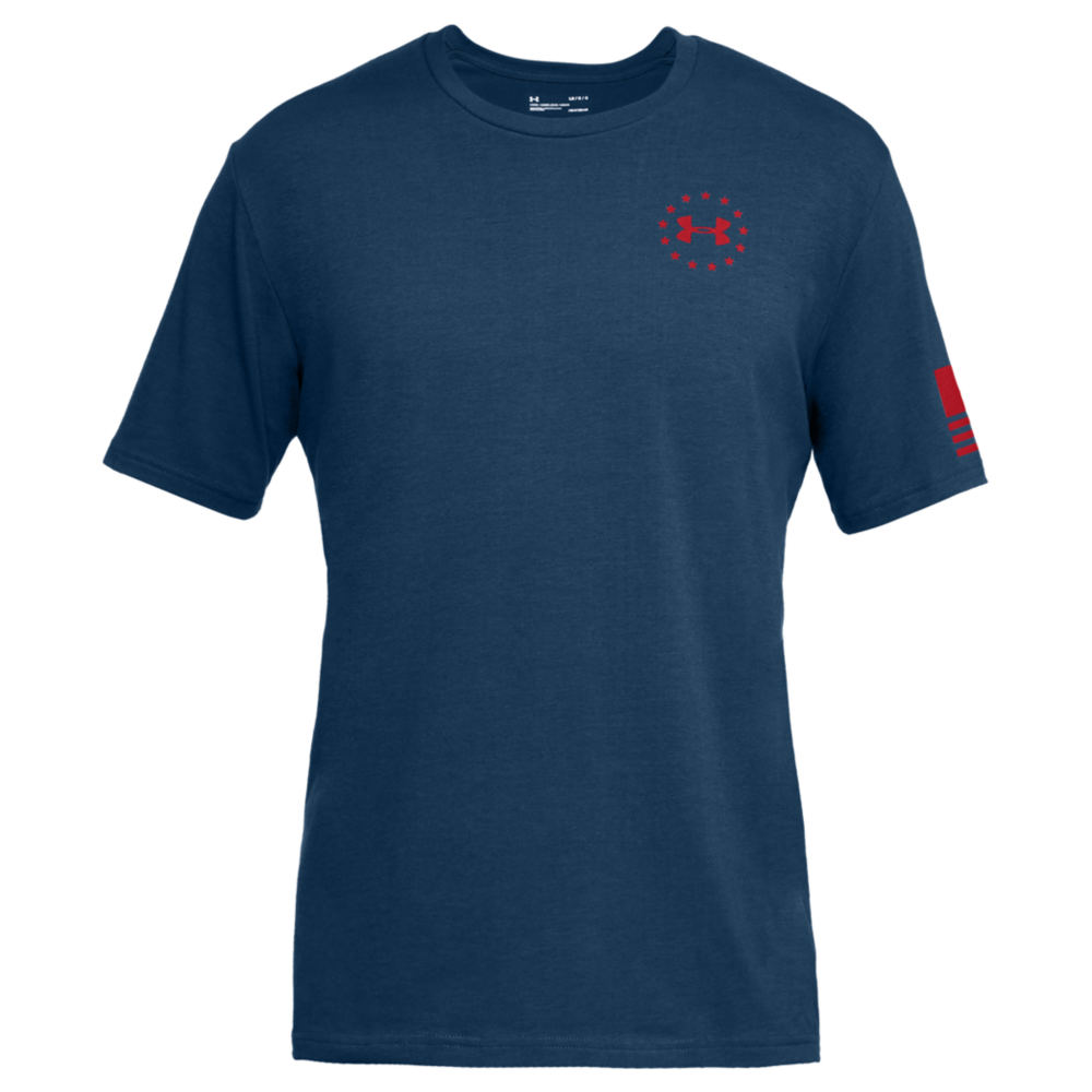 Under Armour Men's Freedom Express Navy Knit Tops XXL 713116NVY2XL