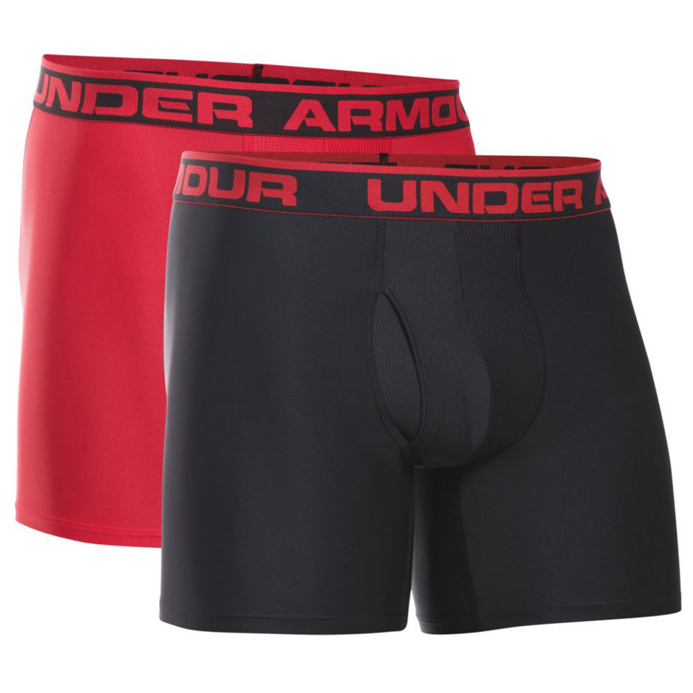 Under Armour Men's O-Series Boxerjock 2-Pack Black Underwear XL 713128BKDXL