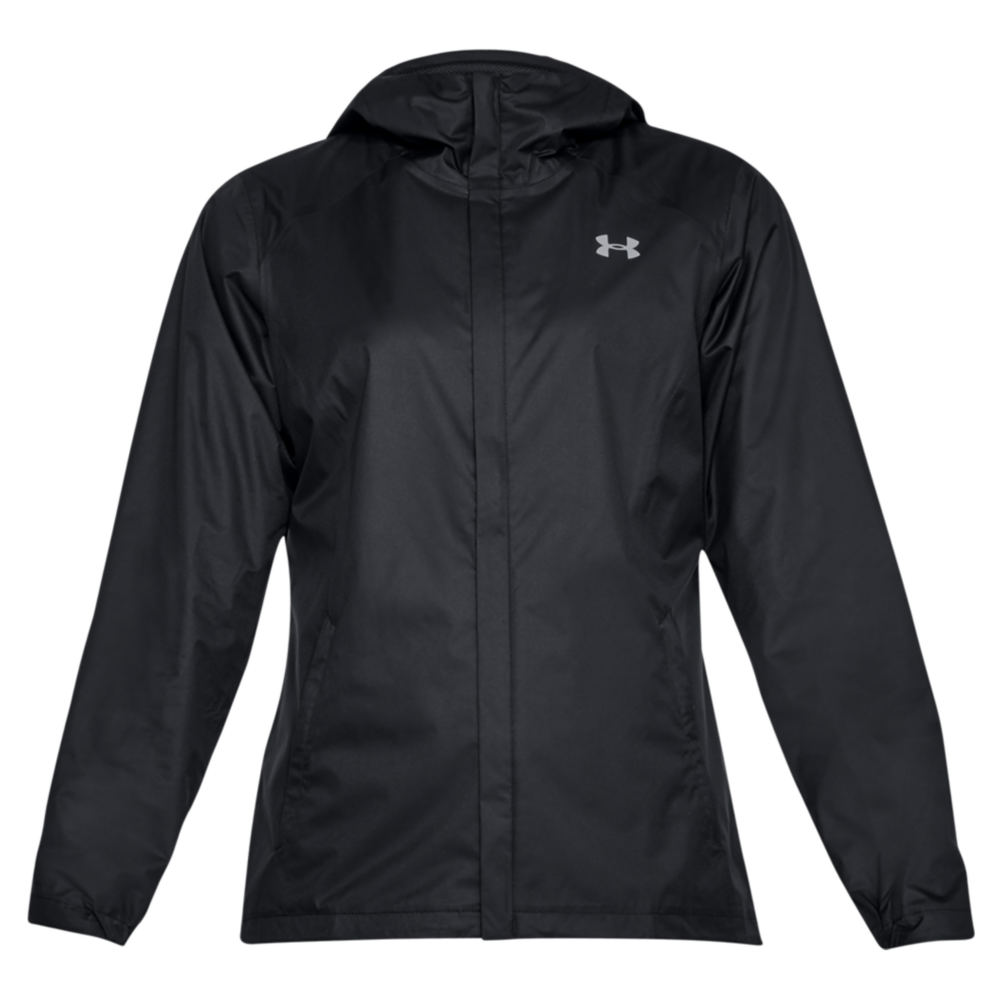 Under Armour Women's Overlook Jacket Black Jackets XL 713130BLKXL