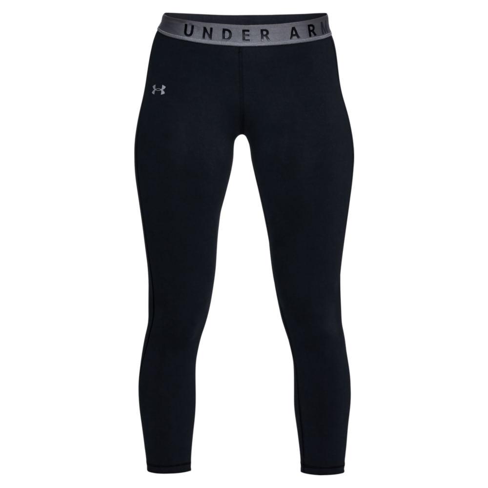 Under Armour Women's Favorite Crop Capris Black Pants XL-Regular 713150BLKXL
