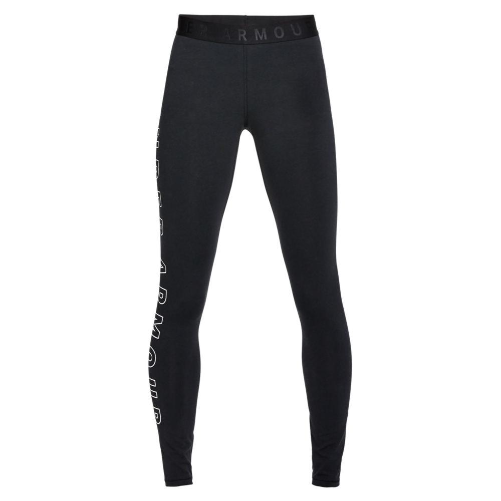 Under Armour Women's Favorite Graphic Legging Black Pants L-Regular 713154BLKL