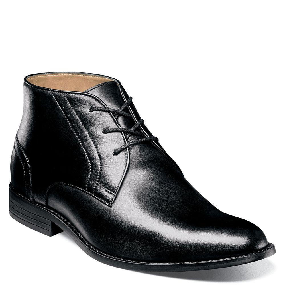 Nunn Bush Savage Plain Toe Chukka Boot Men's Black Boot 11 W