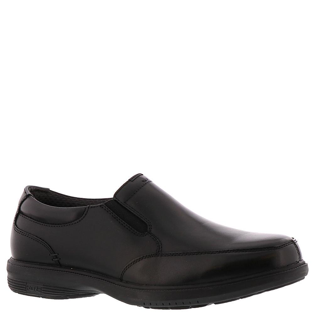 Nunn Bush Myles St. KORE Moc Toe Slp-On Men's Black Slip ...