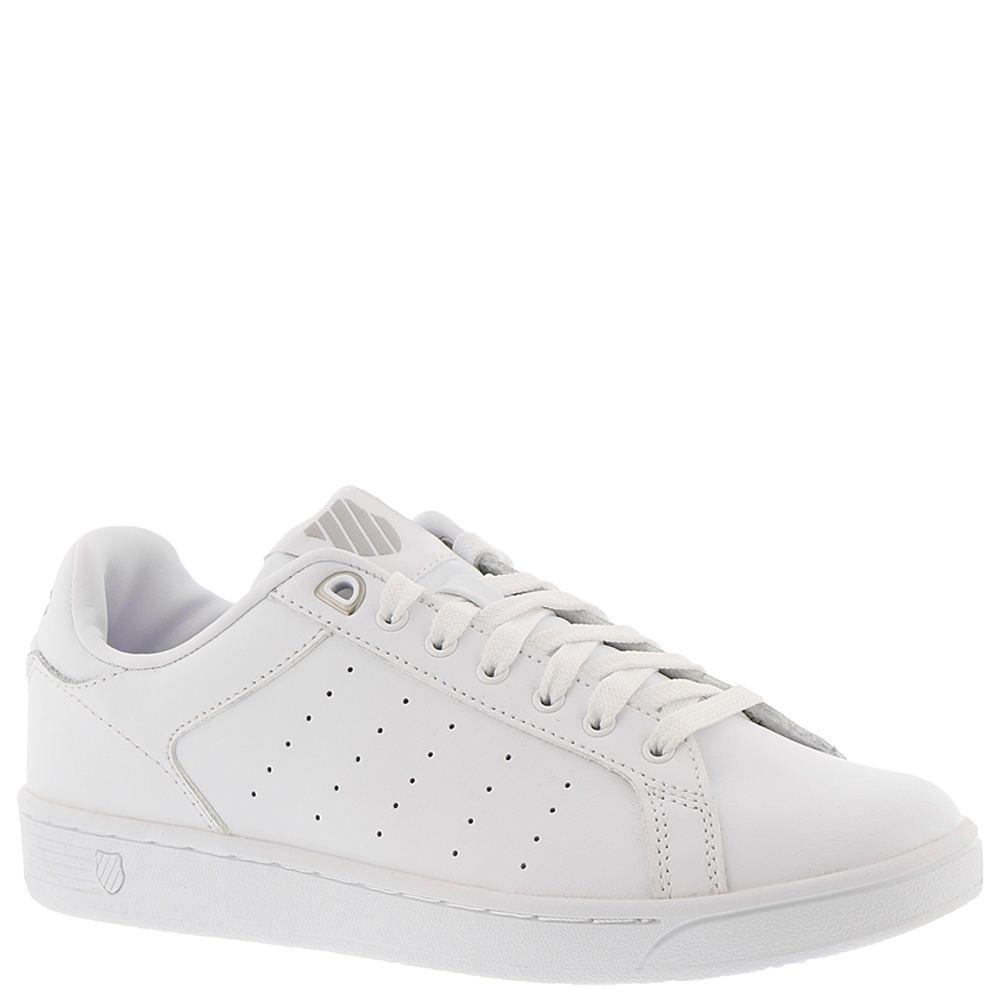 K-Swiss Clean Court Women's White Sneaker 7 M