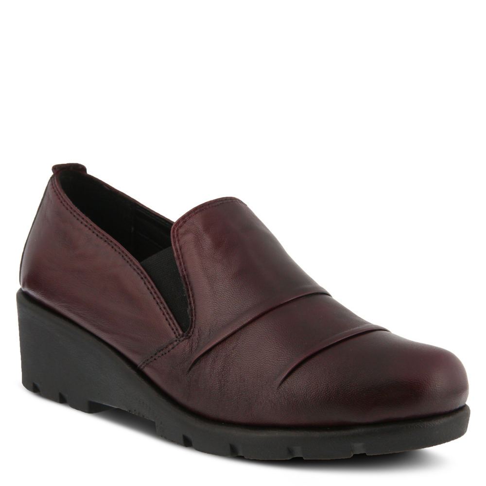 Spring Step Anahita Women's Burgundy Slip On Euro 40 US 9 M 550691BRD400M