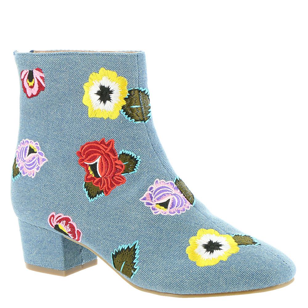 Betsey Johnson Twiggy Women's Blue Boot 7 M