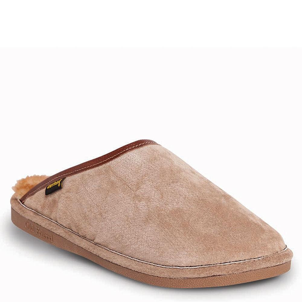 Old Friend Scuff Men's Brown Slipper XXL E2