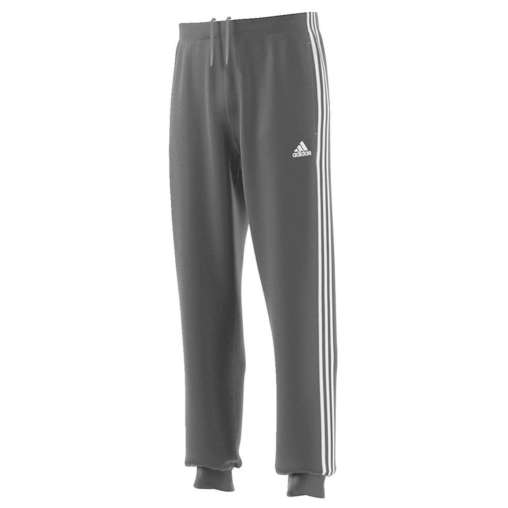 adidas Men's Essentials 3-Stripes Track Jogger Pants Black Pants XXL-Regular 713214BLK2XL