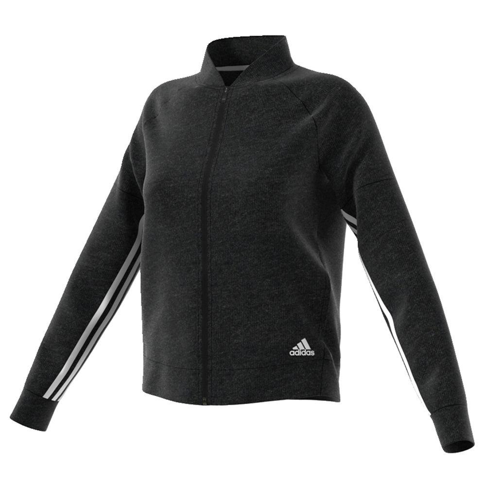 adidas Women's S2S Track Jacket Black Jackets M 713196BLKM