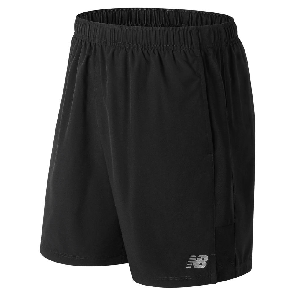 "New Balance Men's Accelerate 7"" Shorts Black Shorts M 713234BLKM"