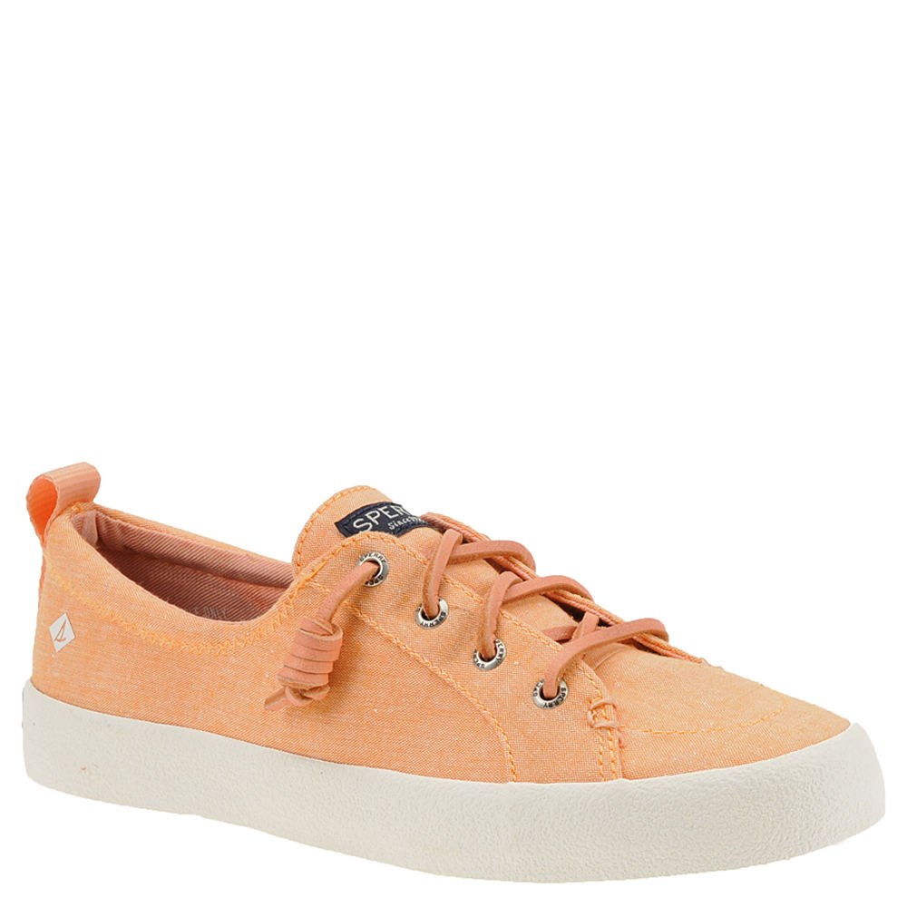 Sperry Top-Sider Crest Vibe Crepe Chambray Women's Pink O...