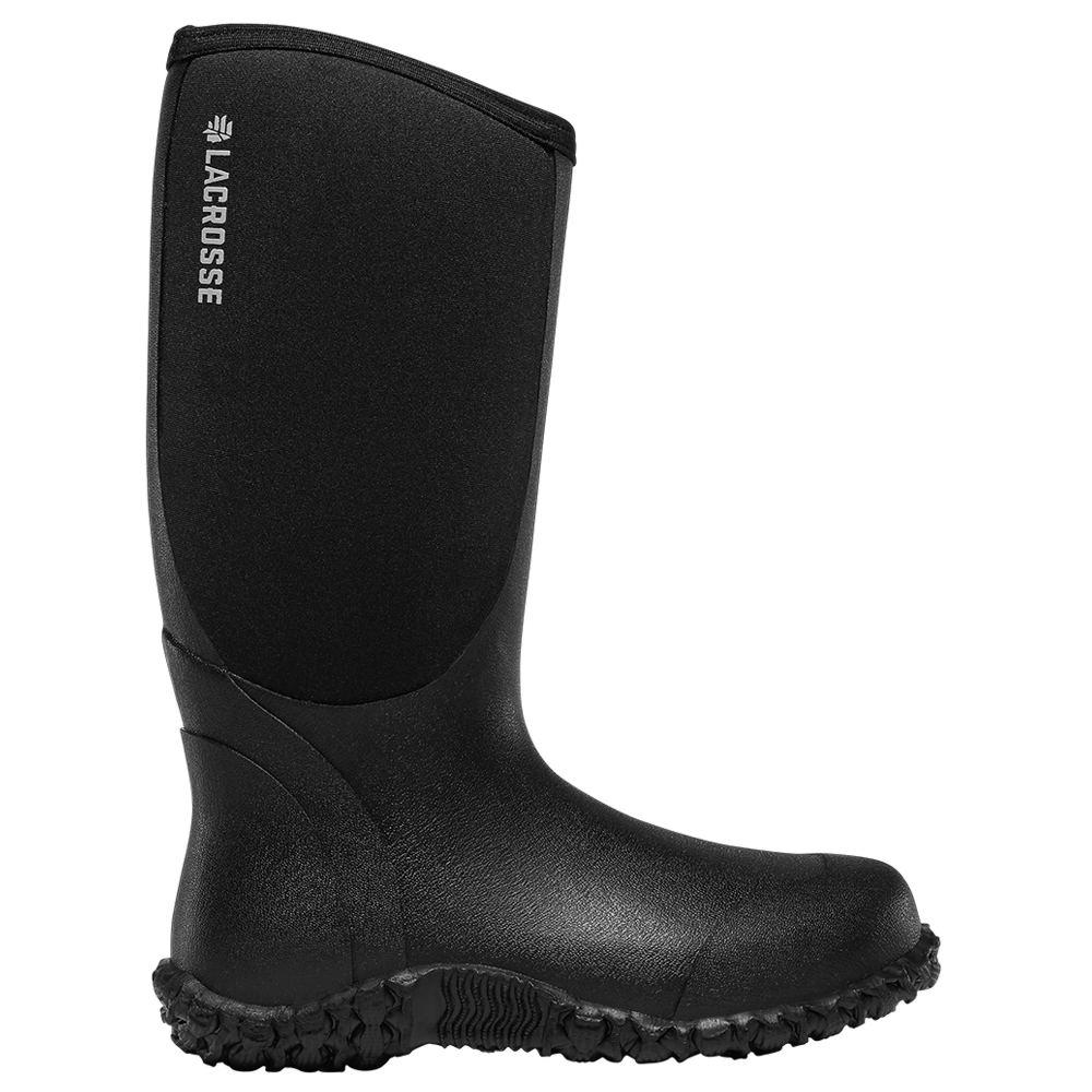 "LaCrosse Alpha Lite 14"" Women's Black Boot 8 M"