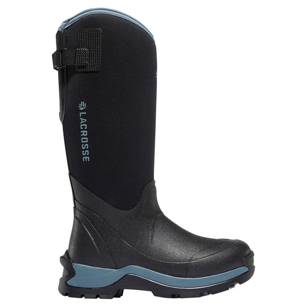 "LaCrosse Alpha Thermal 14"" 7.0mm Women's Black Boot 11 M"