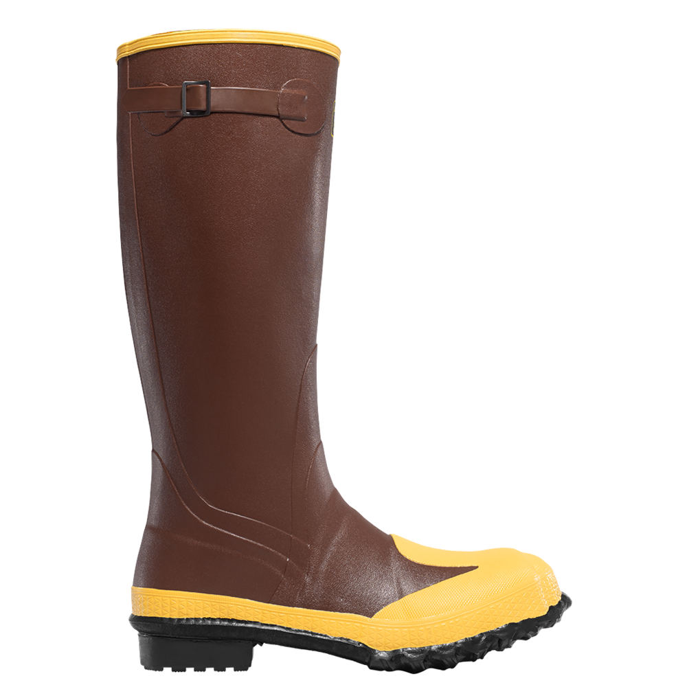 """LaCrosse 16"""" Protecta MET/SM/ST Men's Brown Boot 10 M"""