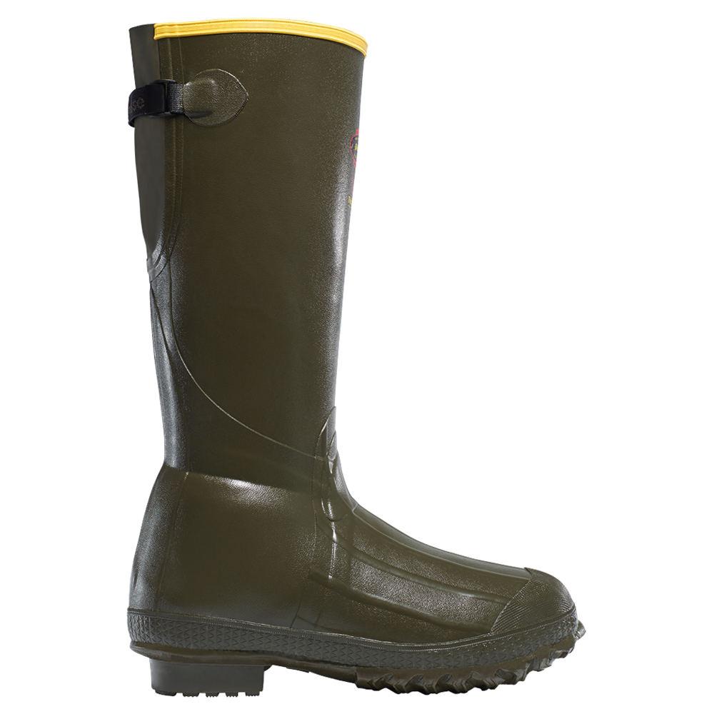 "LaCrosse Burly Trac-Lite 18"" 800G Men's Green Boot 12 M"