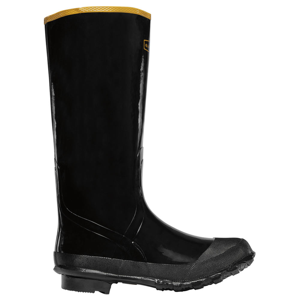 "LaCrosse Economy Knee Boot 16"" Men's Black Boot 6 M"