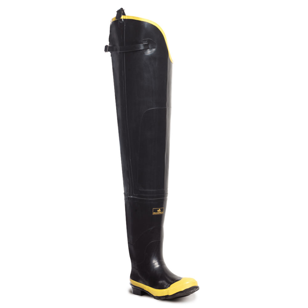 "LaCrosse Economy Hip Boot 32"" ST Men's Black Boot 12 M"