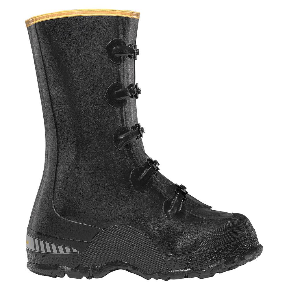"""LaCrosse ZXT Buckle Deep Overshoe 14"""" Men's Black Boot 7 M"""