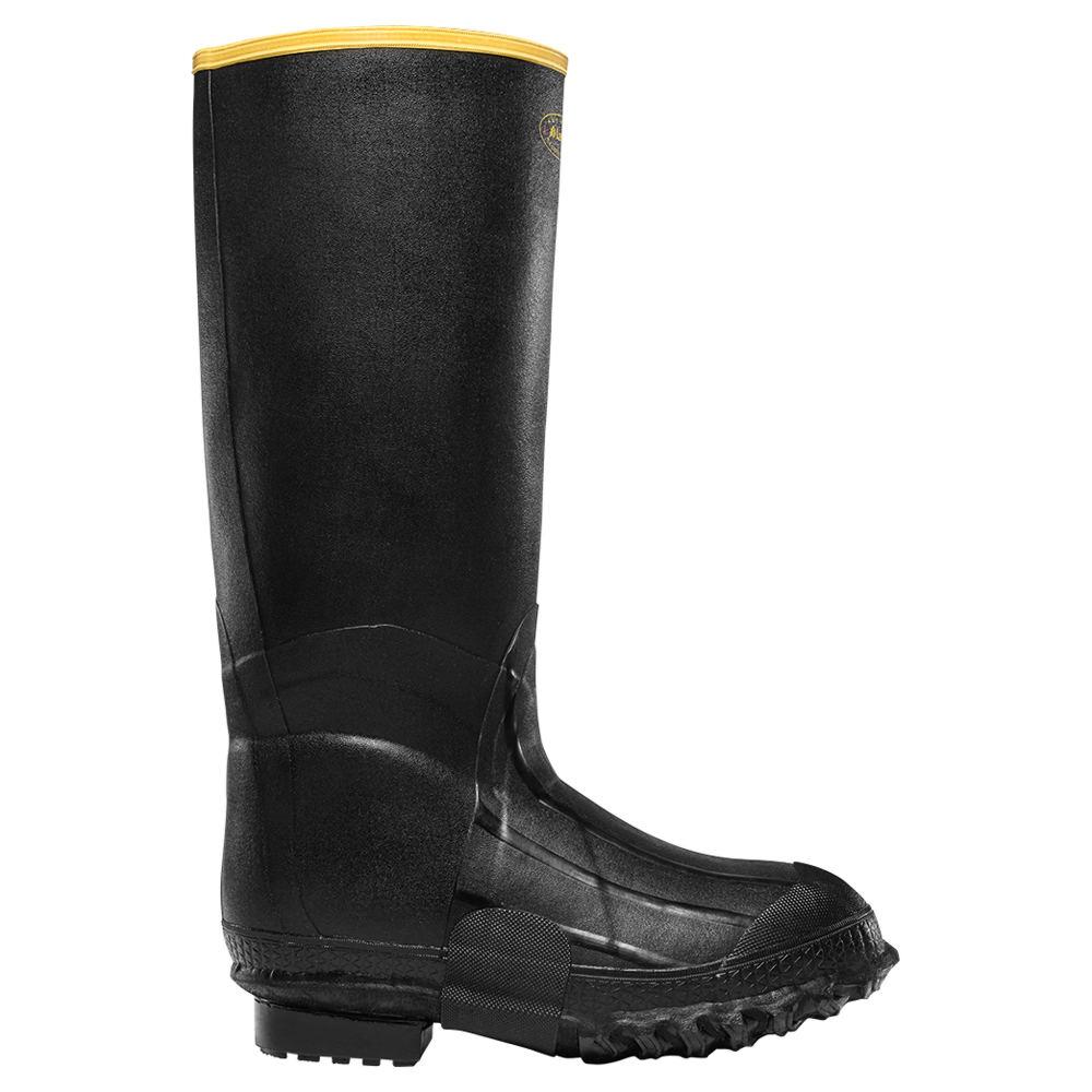 """LaCrosse ZXT Knee Boot 16"""" Foam Men's Black Boot 15 M"""
