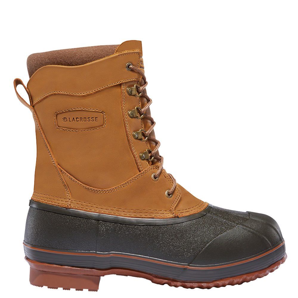 "LaCrosse Ice King 10"" 400G Men's Brown Boot 14 M"