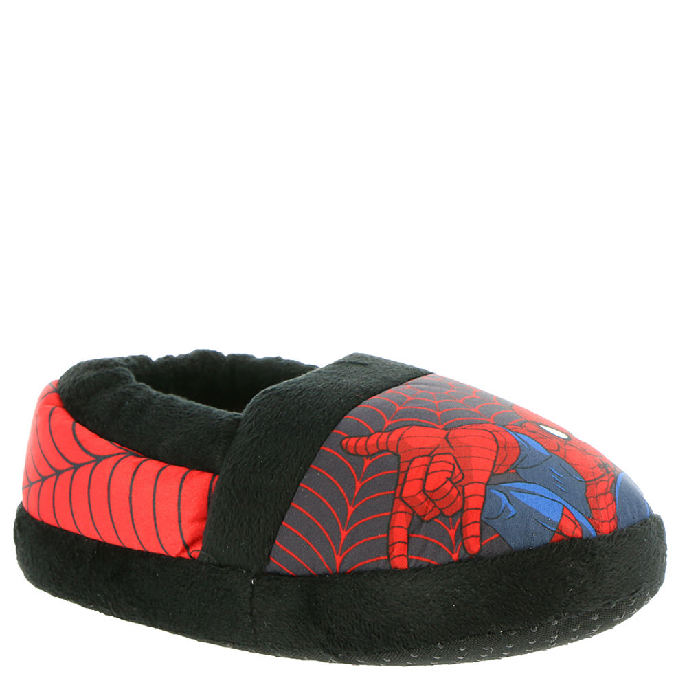 Marvel Spiderman Slipper SPF241 Boys' Red Slipper S M 826364REDSMLM