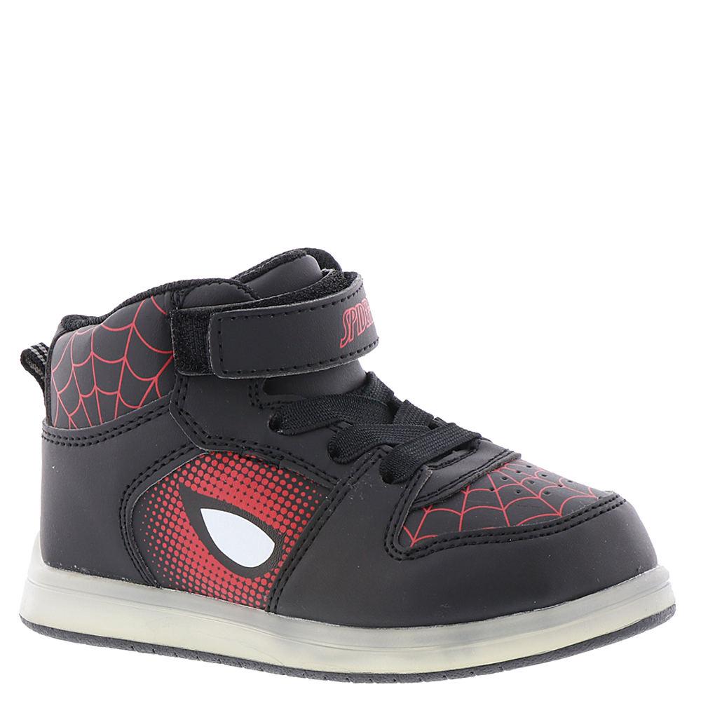 Marvel Spider-Man Hi-Top SPF345 Boys' Toddler Black Sneaker 7 Toddler M 826363BLK070M