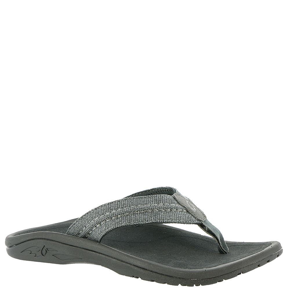 OluKai Hokua Mesh Men's Grey Sandal 13 M