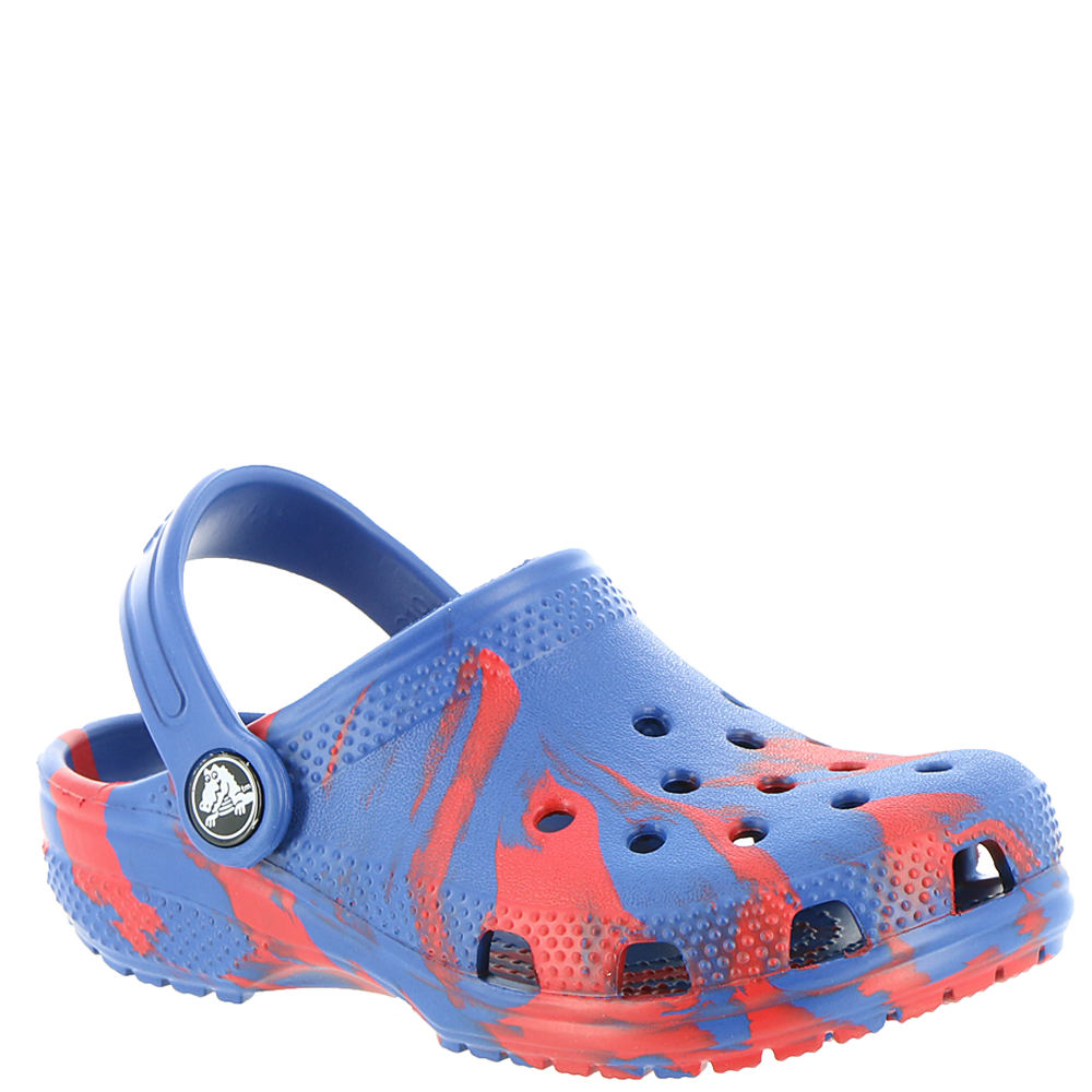 Crocs Classic Swirl Clog Boys' Infant-Toddler-Youth Red Slip On 3 Youth M 826526RED030M