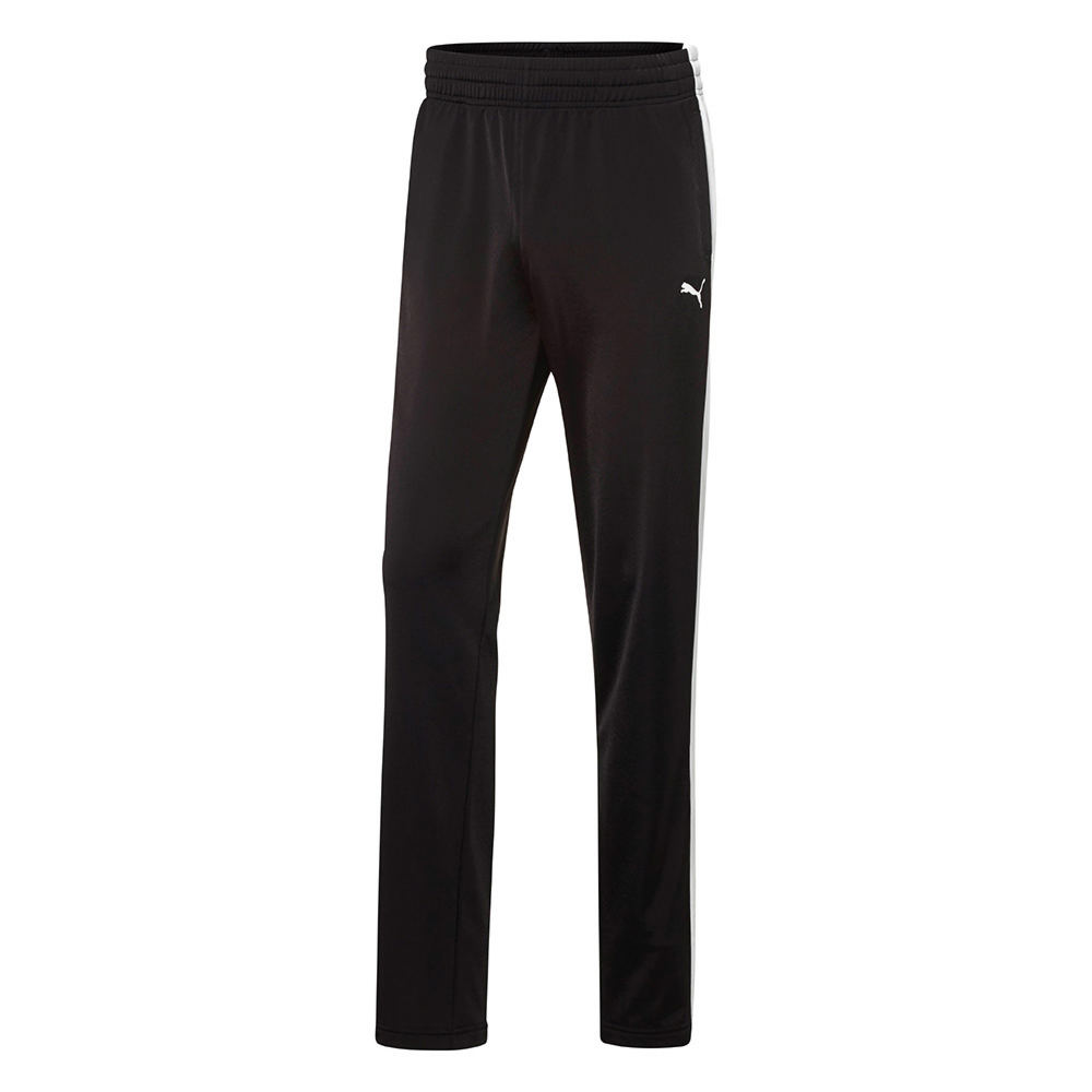 Puma Men's Contrast Open Pants Black Pants XL-Regular