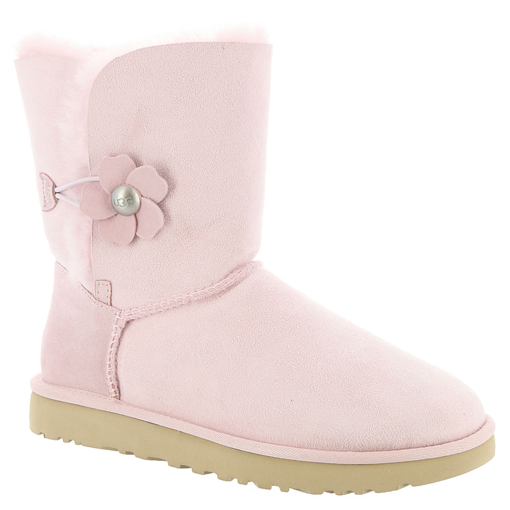 UGG Bailey Button Poppy Women's Pink Boot 6 M