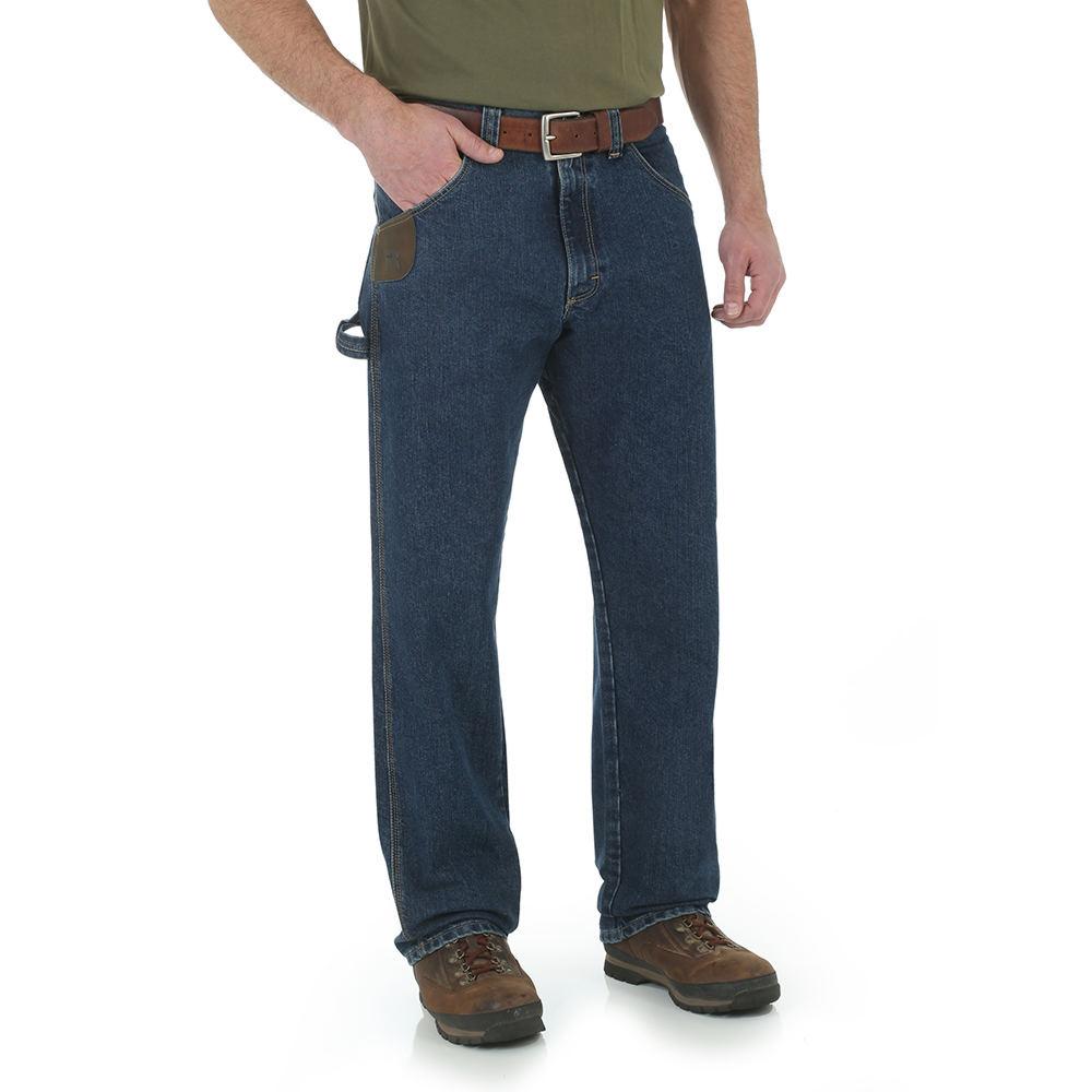 Wrangler Men's Cool Vantage - Carpenter Jean Blue Pants 3...