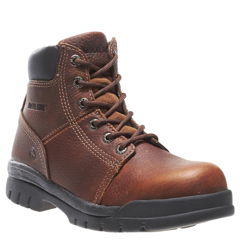 Wolverine Marquette Steel Toe Men's Brown Boot 13 M