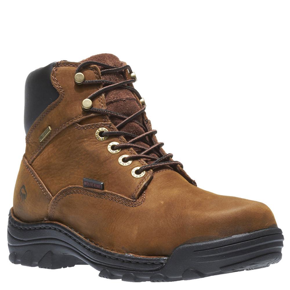 """Wolverine Durbin Soft Toe 6"""" Men's Brown Boot 8 M"""
